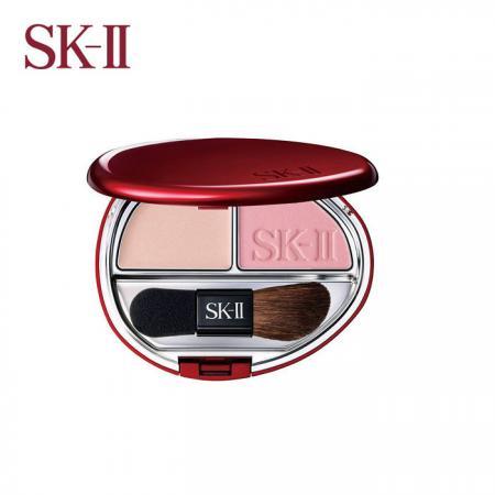 sk2 上质光 立体保养腮红 甜美粉红