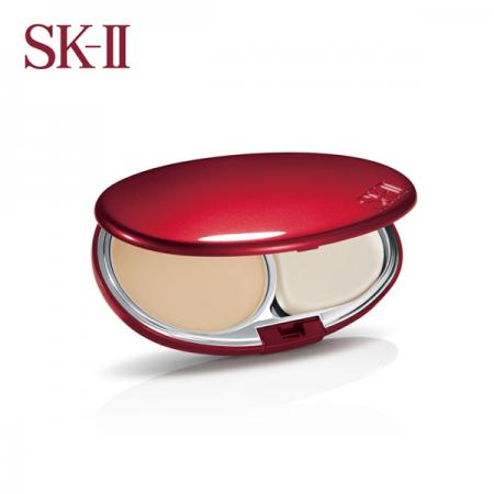 sk2 丝璨缎光粉饼 SPF20/PA++ 八色可选